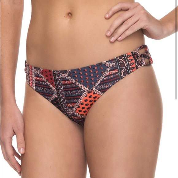 Roxy Other - Roxy Festival Bazar Base Girl Bikini Bottoms L